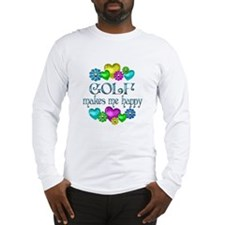 Golf Happiness Long Sleeve T-Shirt