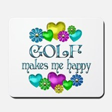 Golf Happiness Mousepad