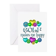 Golf Happiness Greeting Cards (Pk of 10)