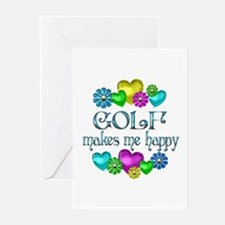 Golf Happiness Greeting Cards (Pk of 20)