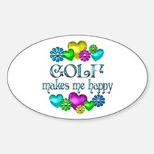 Golf Happiness Decal