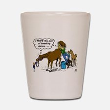 Veterinarian & Horse Shot Glass