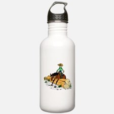 Trail Horse & Log Water Bottle