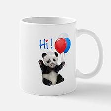 Baby Panda Says Hi Mugs