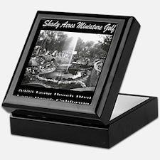 Shady Acres Miniature Golf Keepsake Box