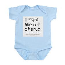 Fight Like A Cherub Infant Bodysuit