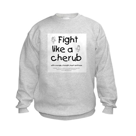 Fight Like A Cherub Kids Sweatshirt