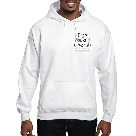 Fight Like A Cherub Hooded Sweatshirt