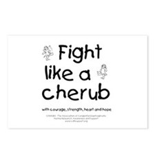 Fight Like A Cherub Postcards (Package of 8)
