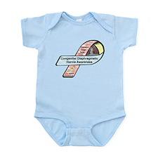 Camdyn Gage Seay CDH Awareness Ribbon Infant Bodys
