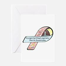 Camdyn Gage Seay CDH Awareness Ribbon Greeting Car