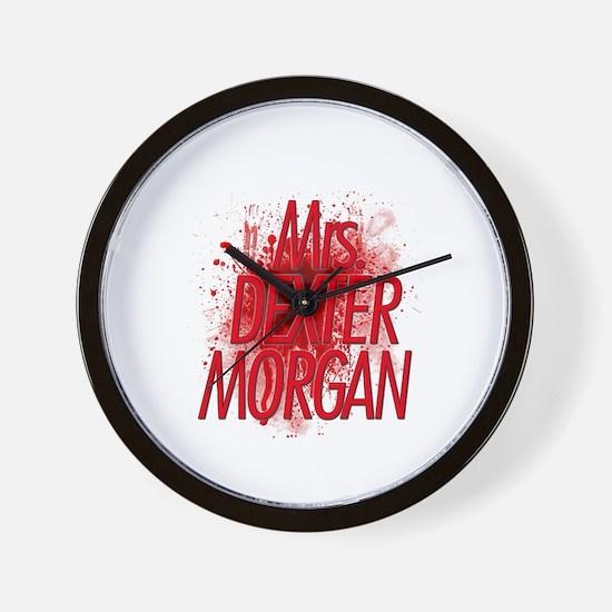 Mrs. Dexter Morgan Wall Clock