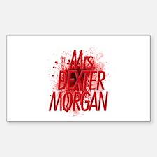 Mrs. Dexter Morgan Decal