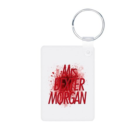 Mrs. Dexter Morgan Aluminum Photo Keychain