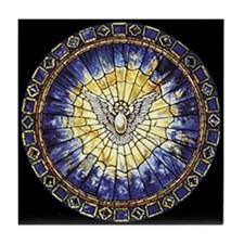 Holy Spirit Tile Coaster