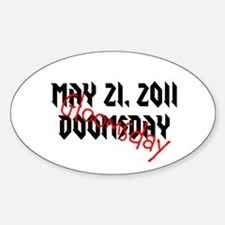 May 21, 2011 Gloomsday Sticker (Oval)