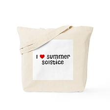 I * Summer Solstice Tote Bag