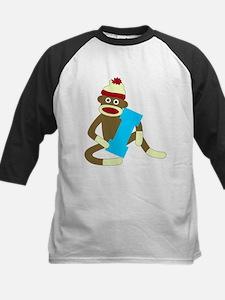 Sock Monkey Monogram Boy I Tee