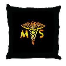 Mortuary Throw Pillow