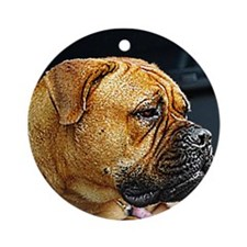 Bullmastiff Ornament (Round)