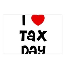 I * Tax Day Postcards (Package of 8)