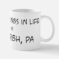 Best Things in Life: Pittsbur Mug