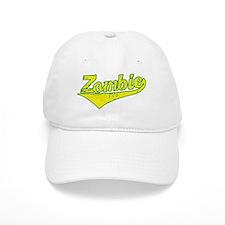 Zombie Basball Baseball Cap