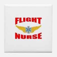Cool Flight nurse Tile Coaster