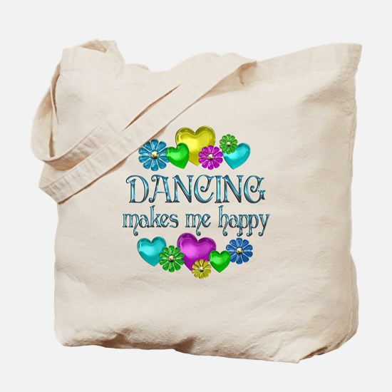 Dancing Happiness Tote Bag
