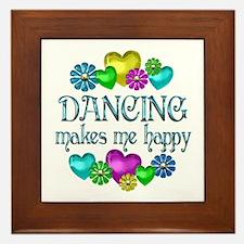 Dancing Happiness Framed Tile