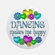 Dancing Happiness Ornament (Round)