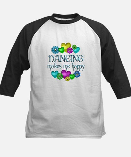 Dancing Happiness Kids Baseball Jersey
