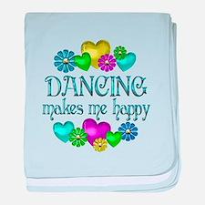 Dancing Happiness baby blanket