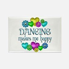 Dancing Happiness Rectangle Magnet (10 pack)