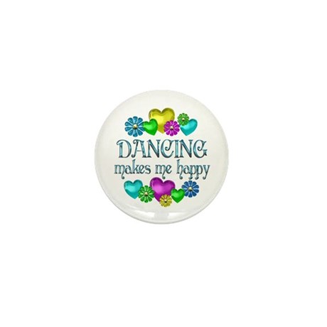 Dancing Happiness Mini Button (100 pack)