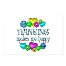 Dancing Happiness Postcards (Package of 8)