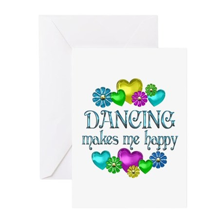 Dancing Happiness Greeting Cards (Pk of 20)