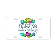 Dancing Happiness Aluminum License Plate