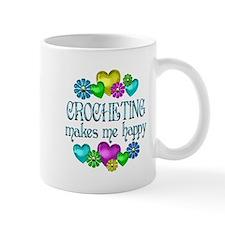 Crocheting Happiness Small Mug