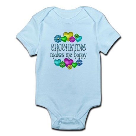 Crocheting Happiness Infant Bodysuit