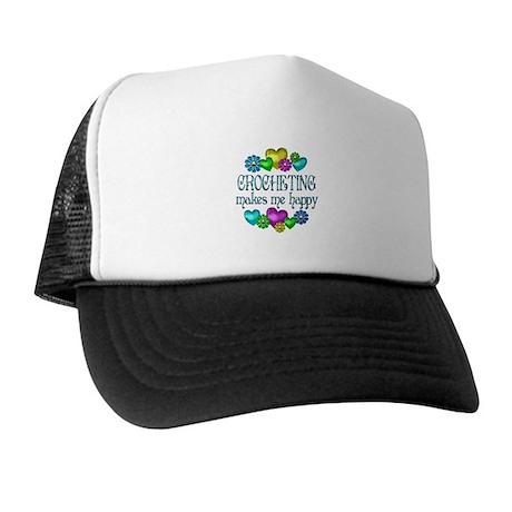 Crocheting Happiness Trucker Hat
