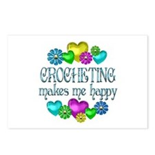 Crocheting Happiness Postcards (Package of 8)