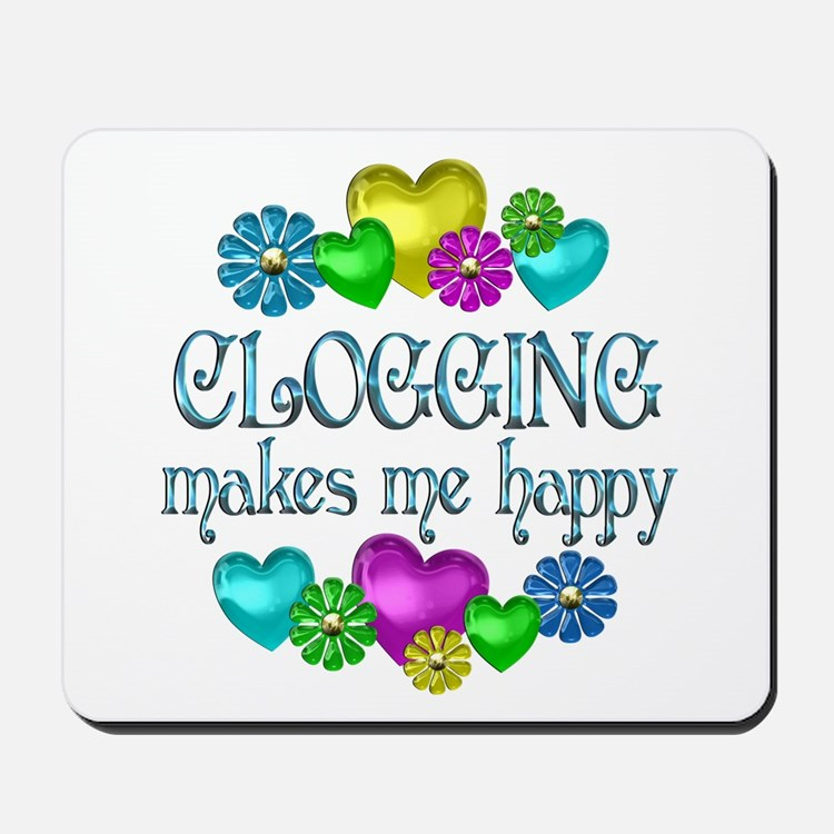 Clogging Happiness Mousepad