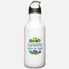 Clogging Happiness Water Bottle