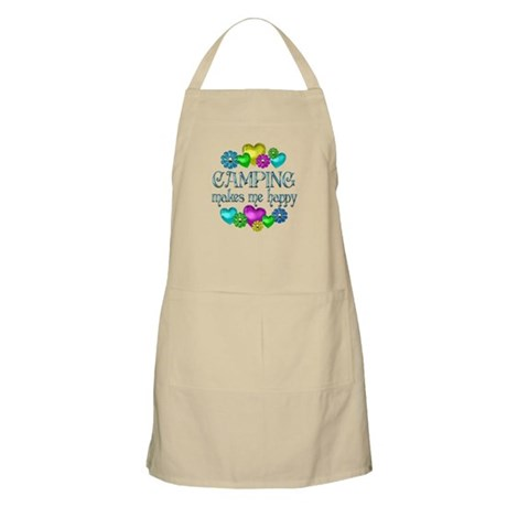 Camping Happiness Apron