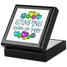 Camping Happiness Keepsake Box