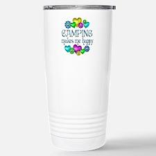 Camping Happiness Travel Mug