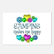 Camping Happiness Postcards (Package of 8)