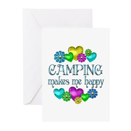 Camping Happiness Greeting Cards (Pk of 20)