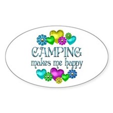 Camping Happiness Decal